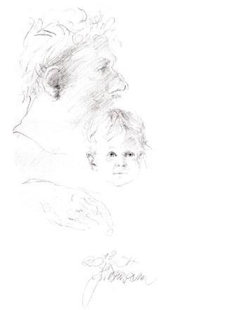 Eda Jenický s Alžbětkou